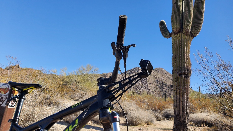 MTB GoPro Mount (3D printed)