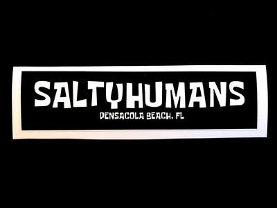 SaltyHumans Sticker