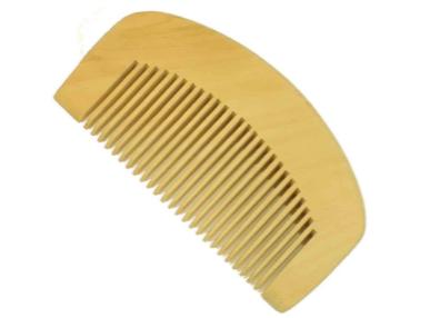 Natural Wood Beard Comb