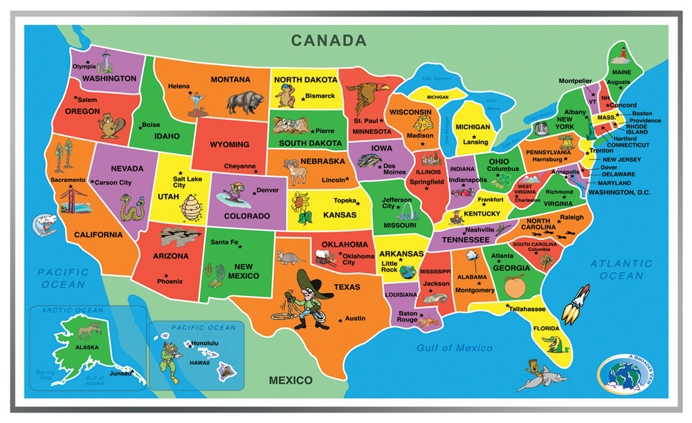 Kids' Puzzle of the United States