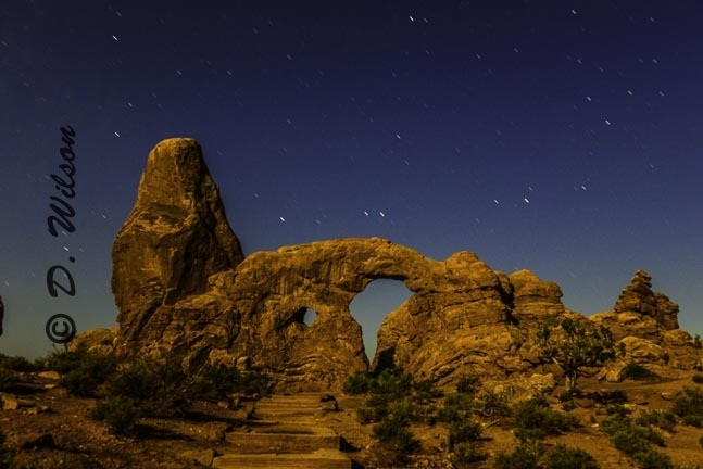 Turret Arch --  Starting at