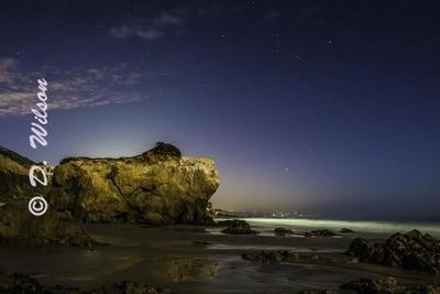 Glowing Sea --  Starting at
