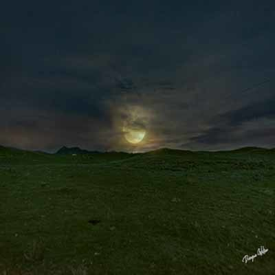Blood Full Moon Anza Borrego State Park  --  Starting at