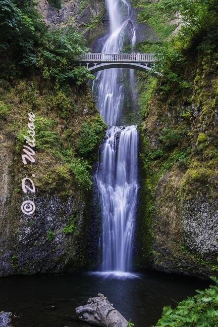 Multnomah Falls --  starting at