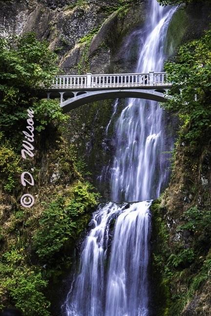 Multnomah Falls 1 --  starting at