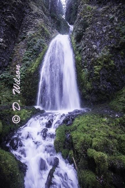 Bridal Falls, Or 1 --  starting at