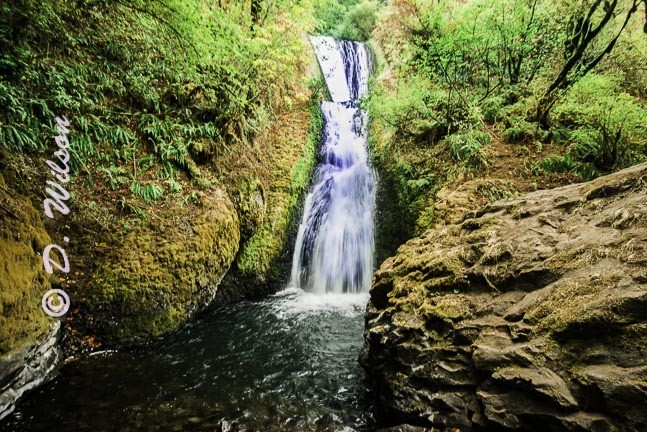 Waheens Falls --  starting at