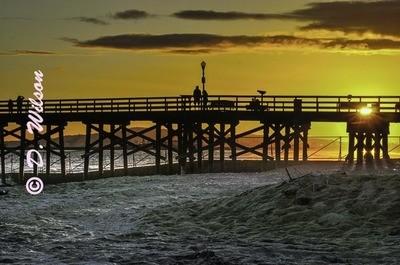 Huntington Beach Pier - Huntington Beach, Ca