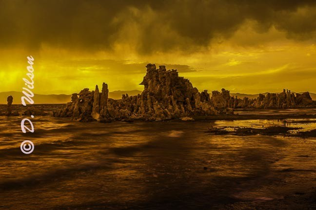 Mono Lake - Fire and Water