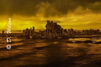 Mono Lake - Fire and Water