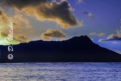 Sunset - Diamond Head, Hawaii