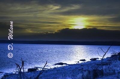 Sunset in Yellowstone 1