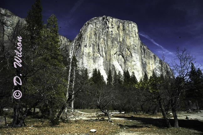 El Capitan Yosemite, CA - starting at