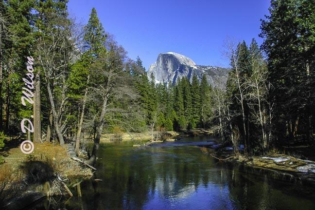 Half Dome Yosemite, Ca - starting at