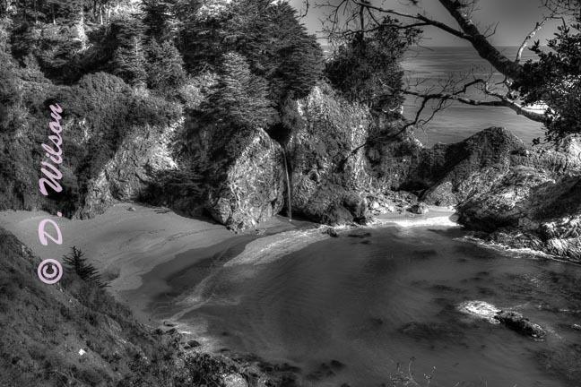 McWay Falls 2 -  Big Sur, Ca  --  starting at
