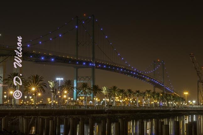 Vincent Thomas Bridge 1, Ca  --  starting at