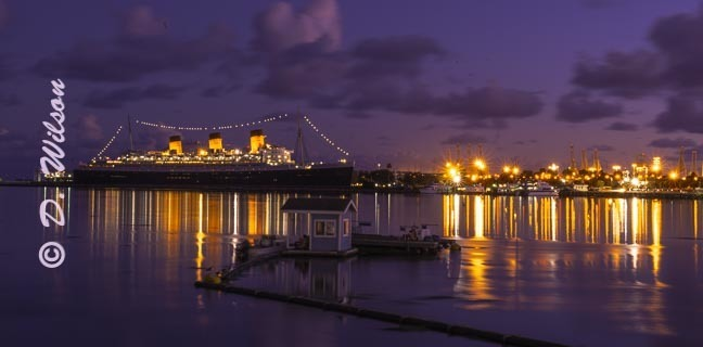 Queen Mary Long Beach 1, Ca  --  starting at