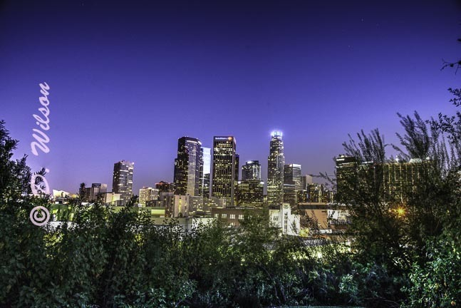 Downtown Los Angeles 4, Ca (HDR)  --  starting at