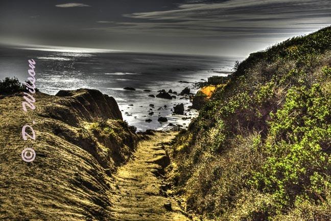 El Matador State Beach 3, Malibu,Ca.(HDR) --  Starting at