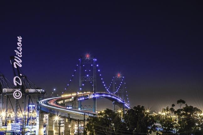 Vincent Thomas Bridge 3, Ca  --  starting at