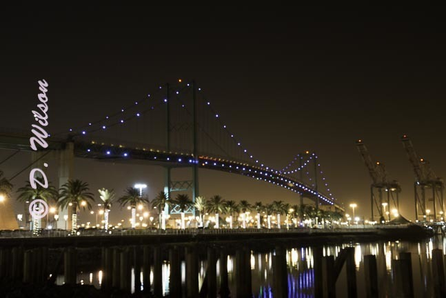 Vincent Thomas Bridge 2, Ca  --  starting at