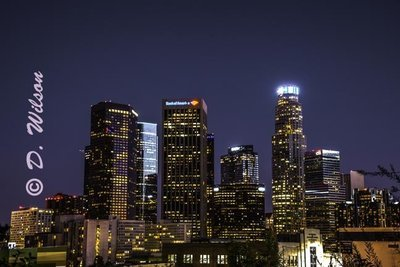 Downtown Los Angeles 3, Ca (HDR) --  starting at