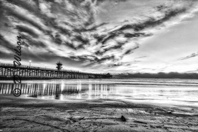 Seal Beach Pier, Seal Beach, Ca (HDR)  --  starting at