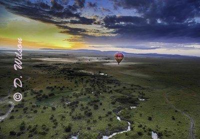 Sunrise Over the Serengeti