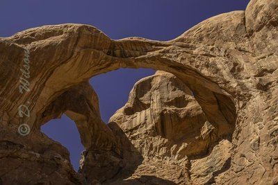 Double Arch - Arches Nat'l Park, Utah  --  starting at
