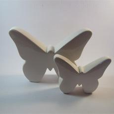 Porzelan Schmetterlinge Set