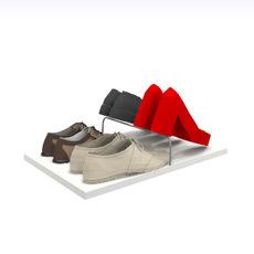 Tablarzubehör für Schuhe