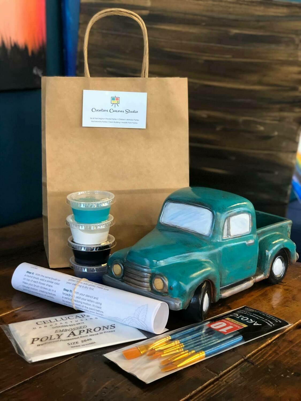 Vintage Ceramic Truck Take Home Kit