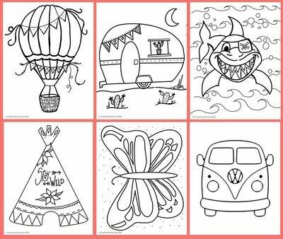 Larger Kids Art Kit