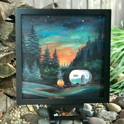 Life's An Adventure! Adult Paint Kit with Video Link - IArt Rave