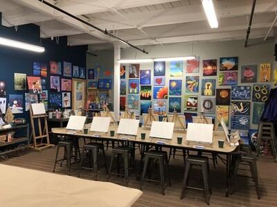 Fundraising Paint Party Deposit