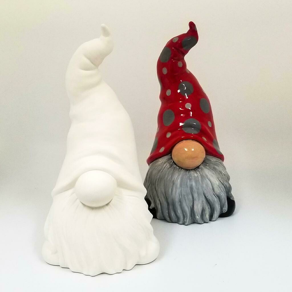 Large Tall Hatted Gnome