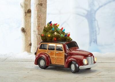 Woody Ceramic Light Up Wagon