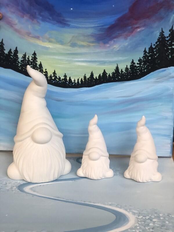 Gnome Family Paint Kit