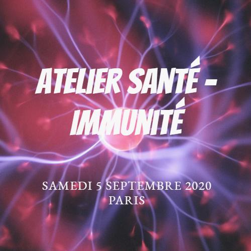 Atelier Coahing de Vie SANTÉ, IMMUNITÉ, CRISE 14h - 18h