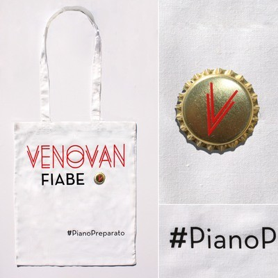 Bag bianca Venovan / con spilla