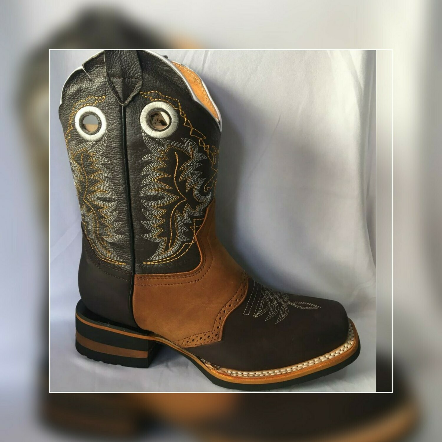 Bota Rodeo Old corral suela hule