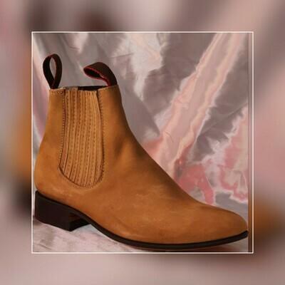 Booty Villa del Carbon Classic sole cowboy color: nubuck cammello