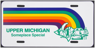 Someplace Special License Plate