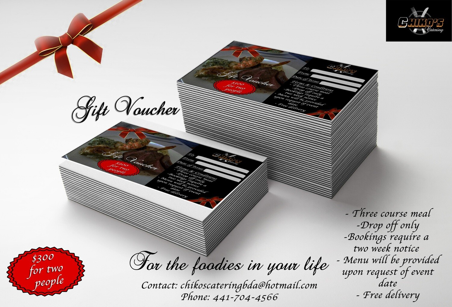 Catering Gift Voucher