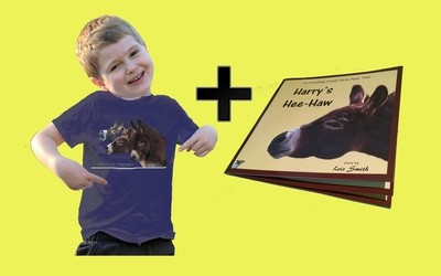 Harry's Hee Haw  T-shirt and Book