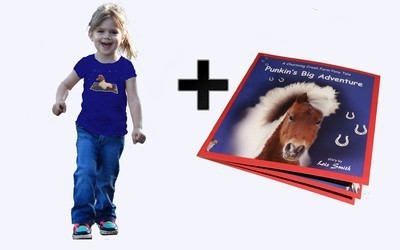 Punkin's Big Adventure - T-shirt and Book