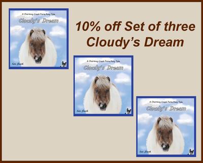 Set of Three - Cloudy's Dream