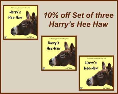 Set of three - Harry's Hee Haw
