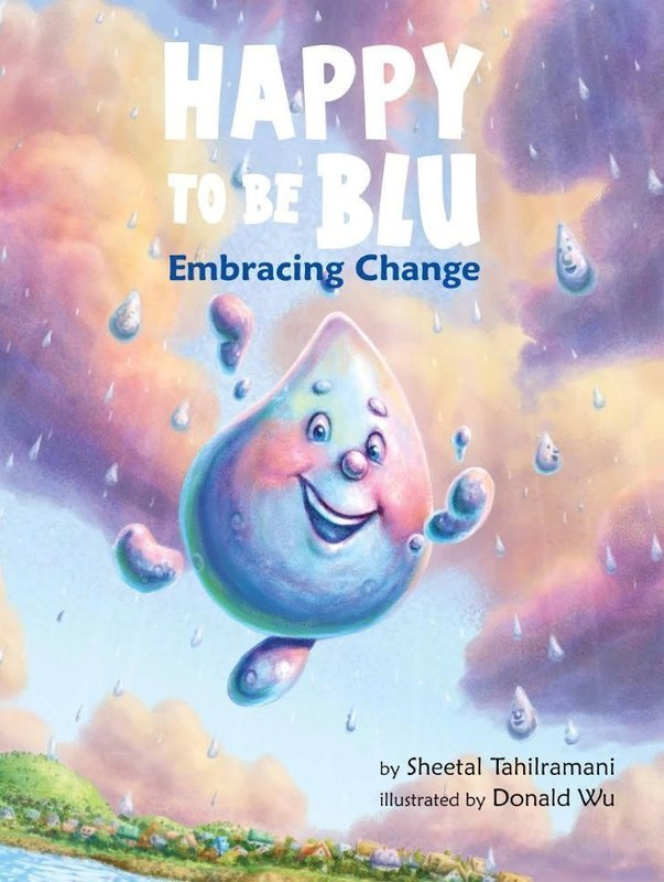 Happy to be Blu, Children's Book