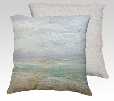 Beach Day 2 Velvet Pillow (small)